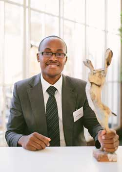 Dr Dennis Makau, a winner in 2014