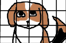 Photo: The life of a beagle animated